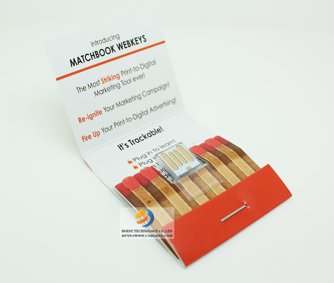 Matchbook USB webkey pictures.