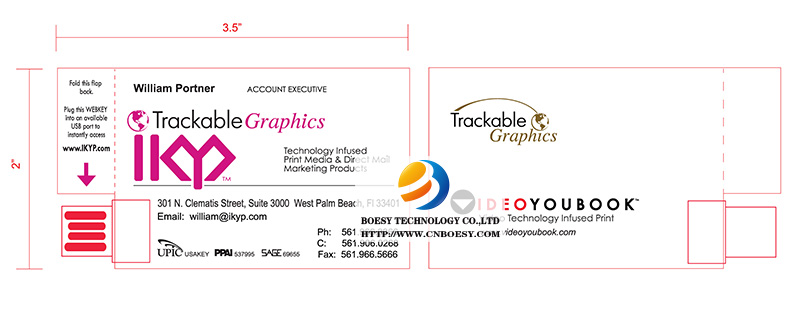 Business card paper webkey clip on model business card size paper webkey reheart Choice Image
